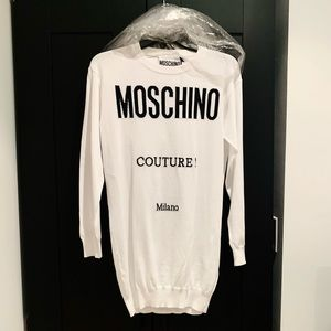 NWT Moschino Couture! sweater dress